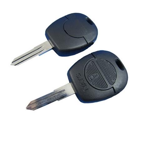 Carcasa llave fija 2 botones NISSAN MICRA, TERRANO II, VANETTE.