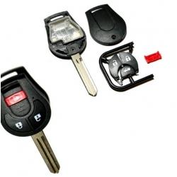 Carcasa llave fija 3+1 botones NISSAN INTERSTAR.