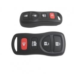Carcasa mando 3+1 botones para NISSAN TIIDA.