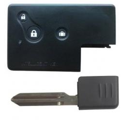 Carcasa 3 botones para tarjetas NISSAN.Con Smart Key.