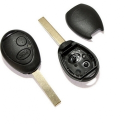 Carcasa llave fija 2 botones LAND ROVER.