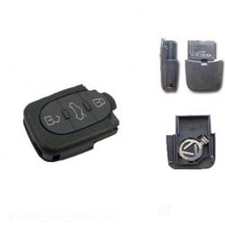 Carcasa inferior llave mandos plegable 3B redonda para modelos tipo VAG con pila 1616 (pequeña): AUDI,SEAT,SKODA Y VOLKSWAGEN.