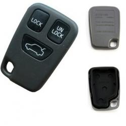 Carcasa 3 botones para mandos VOLVO S40,V40,S70,V70, C70.