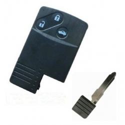 Carcasa 3 botones para tarjetas MAZDA. Smart Key incluido.