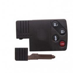 Carcasa 3+1 botones para tarjetas MAZDA. Smart Key incluido.