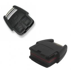 Carcasa superior 3 botones para llave fija OPEL.