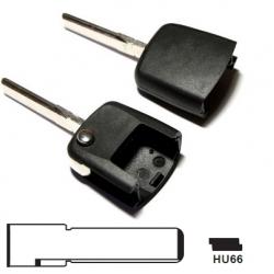 Carcasa encastre superior para llave plegable VOLSKWAGEN, SEAT,SKODA Y AUDI.