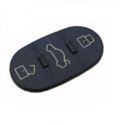 Botonera 3 botones llave mando plegable reedonda para modelos tipo VAG AUDI,SEAT, SKODA Y VOLKSWAGEN.