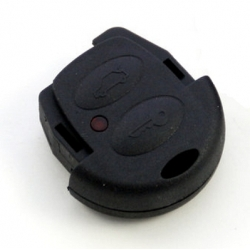 Carcasa encastre superior 2 botones para llave fija VOLSKWAGEN, SEAT,SKODA Y AUDI.