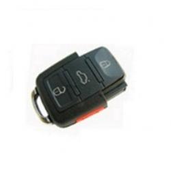 Carcasa inferior 3+1 botones llave mando plegable cuadrada para modelos tipo VAG AUDI,SEAT, SKODA Y VOLKSWAGEN.