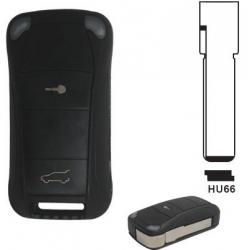 Carcasa 2 botones llave plegable PORSCHE®.