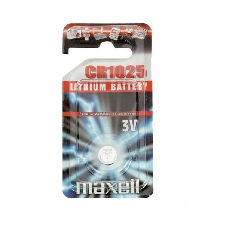 Pila alcalina boton CR1025-B1