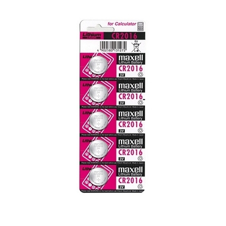 Pila alcalina botón CR2016-B5