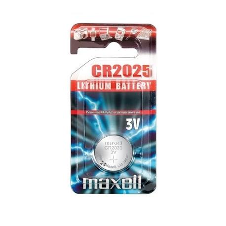 Pila alcalina botón CR2025-B1