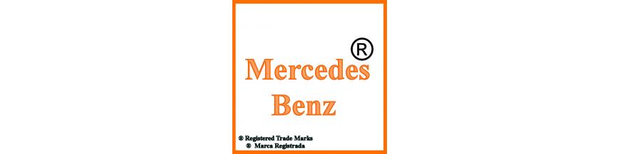 Productos y accesorios de Mercedes Benz, llaves y electrónica.