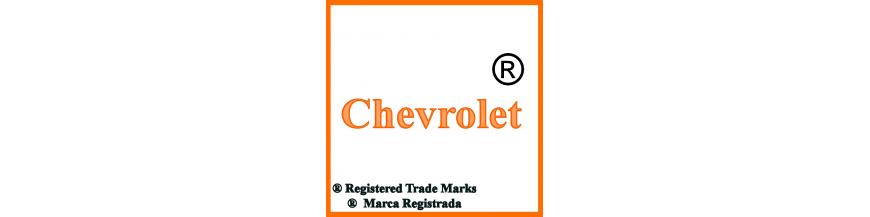 Productos y accesorios de Chevrolet, llaves y electrónica.