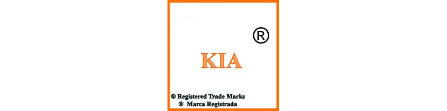 Productos y accesorios de Kia, llaves y electrónica.