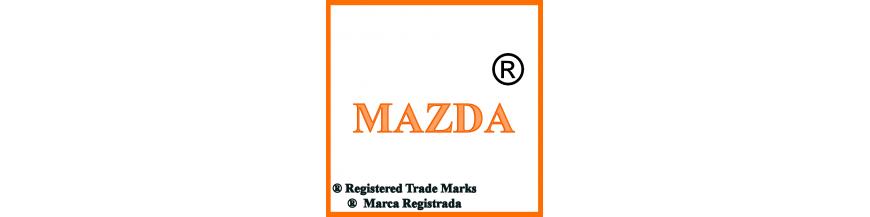Productos y accesorios de Mazda, llaves y electrónica.