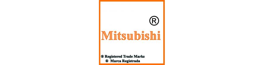Productos y accesorios de Mitsubishi, llaves y electrónica.