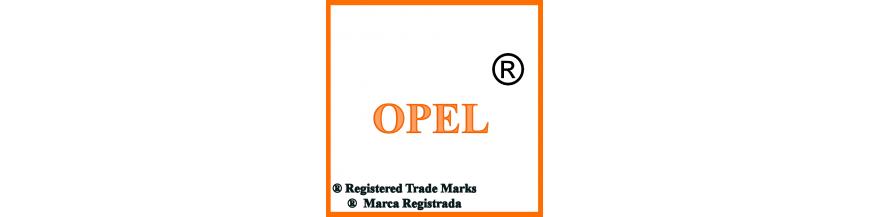 Productos y accesorios de Opel, llaves y electrónica.