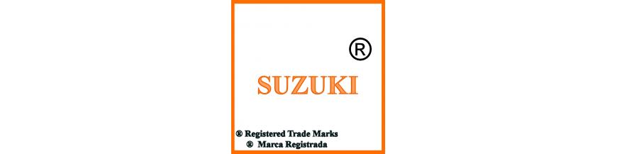 Productos y accesorios de Suzuki, llaves y electrónica.